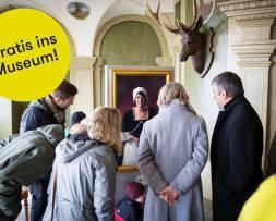 Mit der Aktion Eingeladen gratis ins Museum