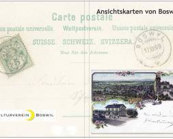 Ansichtskartenbuch von Boswil